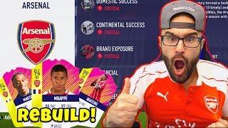 Download ARSENAL REBUILD! Mbappe $110,000,000 SIGNING!! - FIFA 18 Career Mode Video