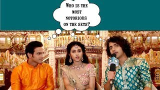 Download Sumedh, Mallika and Basant shares″the most notorious' from the sets of RadhaKrishn | TellyChakkar Video