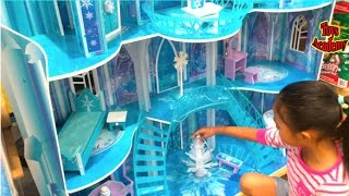 Download Disney Frozen Snowflake Mansion Toys Hunting At Costco | Toys Academy Video