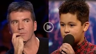 Download 12 Year Old Boy Humiliates Simon Cowell Video