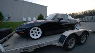 Download TRYING TO GET THE RICER MIATA PAINTED! Video