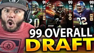 Download 99 OVERALL PLAYER!! - MADDEN 17 DRAFT CHAMPIONS Video