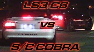 Download LS3 Corvette vs Supercharged SVT Cobra Video