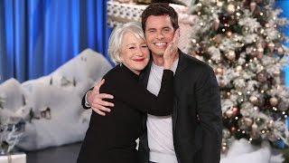 Download James Marsden Shares a Smooch With His Celebrity Crush Helen Mirren Video