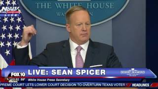 Download Sean Spicer SLAMS Media For Being Very Negative Towards President Donald Trump Video