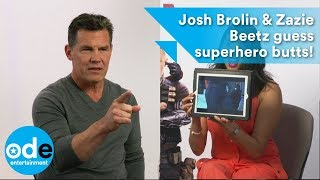 Download DEADPOOL 2: Josh Brolin & Zazie Beetz guess superhero butts and reveal Deadpool 3! Video