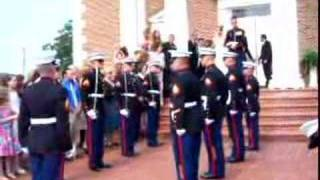Download Marine Wedding Sword Ceremony Video