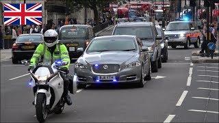 Download NEW Prime Minister's arrival - Metropolitan Police SEG Convoy Video