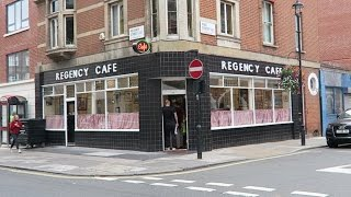 Download Regency Cafe Full English Breakfast at London's Best Greasy Spoon Video