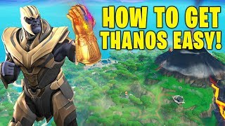 Download HOW TO GET THANOS IN FORTNITE SEASON 8! EASIEST WAY TO BE THANOS! (FORTNITE ENDGAME LTM) Video