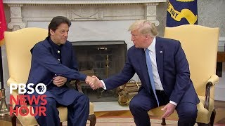 Download WATCH: Trump meets with Pakistani prime minister Imran Khan Video