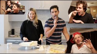 Download BAKING FOR OUR FRIENDS! (PRACTICING BEING PARENTS) DAVID! JASON! BRANDON! ARMENIAN FAMILY! Video