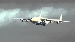 Download Antonov 225 arrives at Doncaster airport 11th November Video