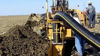 Download Farm Drainage in Illinois Tiling Machine Video