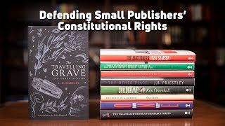 Download Book 'em: Feds threaten small publisher with six-figure fines over obsolete law Video