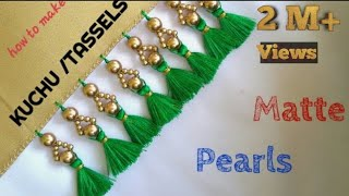 Download SARRE KUCHU TUTORIAL USING MATTE PEARLS /Design #41 Video