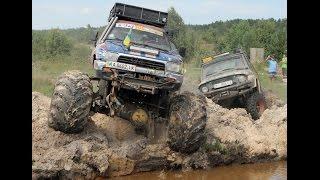 Download Разрываем зачетную Ямищу Бигфутами котлетами ОГОНЬ off-road 4x4 Big Foot in Deep Mud Video