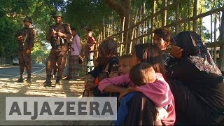Download Rohingya refugees seeking sanctuary in Bangladesh Video
