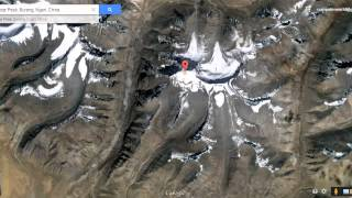 Download Lord Shiva's mount kailash view from satellite map in Google Earth Video