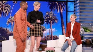 Download Charlize Theron Gets a Surprise Visit from Michael B. Jordan Video