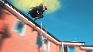 Download SMOKE BOMB ROOF JUMPING INTO BUBBLE WRAP! Video