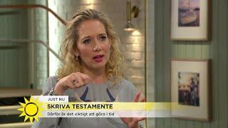 Download Så skriver du ett testamente: ″Viktigt att tänka på″ - Nyhetsmorgon (TV4) Video