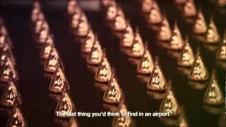 Download Kinetic Rain - World's largest kinetic art sculpture @ Changi Airport Terminal 1 Video