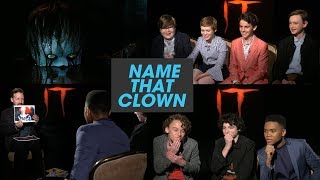 Download The 'It' Losers Club Plays 'Name That Clown' Video