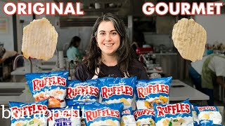 Download Pastry Chef Attempts to Make Gourmet Ruffles | Gourmet Makes | Bon Appétit Video