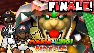 Download VS Bowser & Paper Bowser! || Mario and Luigi: Paper Jam w/ Facecam! - FINALE (Let's Play Gameplay) Video