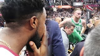Download WITNESSING GORDON HAYWARD PAIN COURTSIDE AT THE CAVS VS CELTICS OPENING GAME! Video