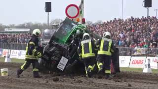 Download Wild ride and crash Thor modified 950kg @ Füchtorf Tractor Pull 2017 Video