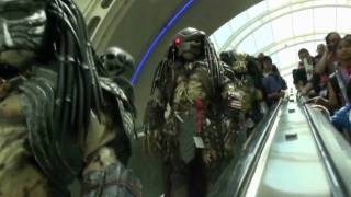 Download Predator Fun at San Diego Comic Con 2009 Video
