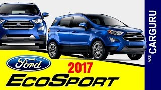Download Ford EcoSport, 2017, CARGURU, Interior, Engine, Automatic, Space & all Details Video