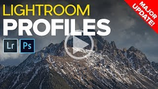 Download Major Lightroom Update - Creative Profiles and LUTs Are Here! Video
