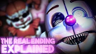 Download Five Nights At Freddy's: Sister Location - The NORMAL Ending Explained Video