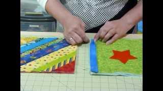 Download How to join up Quilt as you Go blocks and borders - Quilting Tips & Techniques 074 Video