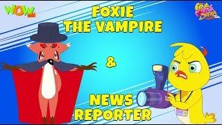 Download Foxie The Vampire | News Reporter- Eena Meena Deeka - Animated cartoon for kids - Non Dialogue Video