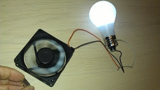 Download Free Energy Magnet Motor fan used as Free Energy Generator ″Free Energy″ light bulb! Video