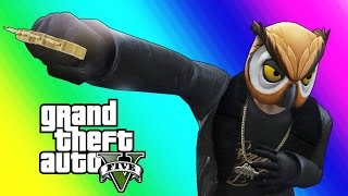 Download GTA 5 Online Funny Moments - Brass Knuckles & Marksman Pistol Free-For-All! Video
