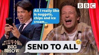 Download Send To All with Jamie Oliver - Michael McIntyre's Big Show: Series 2 Episode 5 - BBC One Video
