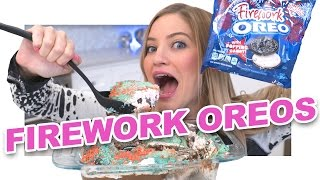 Download How to Make an Oreo Firework Cake! Video