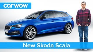 Download Skoda's new VW Golf revealed - is the Scala better than its Volkswagen cousin? Video