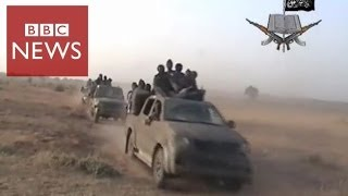 Download Rare video shows Boko Haram attack - BBC News Video