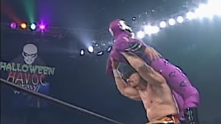 Download Eddie Guerrero vs. Rey Mysterio - Cruiserweight Championship vs. Mask Match: Halloween Havoc 1997 Video