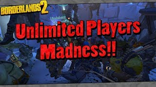 Download Borderlands 2   Unlimited Players Madness!! Video