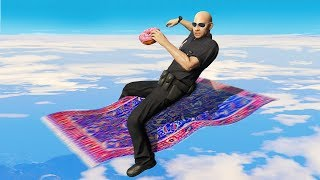 Download Cops Confiscate His Flying Carpet! (GTA RP) Video