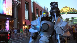 Download Overwatch Reinhardt Cosplay at SDCC 2016 by Extreme Costumes Video
