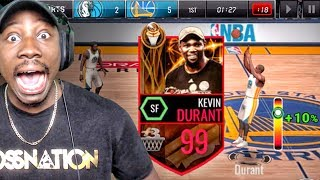 Download 99 OVR FINALS MVP KEVIN DURANT IS NOT HUMAN! NBA Live Mobile 16 Gameplay Ep. 127 Video