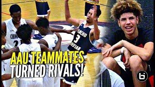 Download LaMelo Ball Back In Gym w/ Chino Hills!! Watches AAU Teammates Turned RIVALS Big O vs Isaiah Mobley! Video
